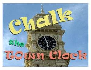 Chalk the Town Clock
